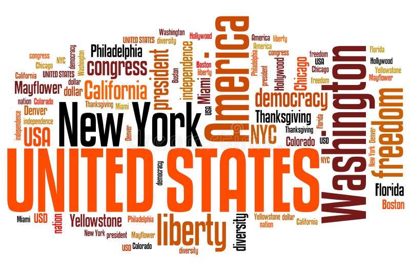 United States stock illustration