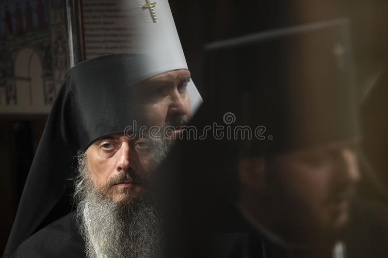 Unity Council of the Ukrainian Orthodox Churches royalty free stock image
