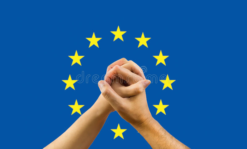 Unity in Europe stock photo