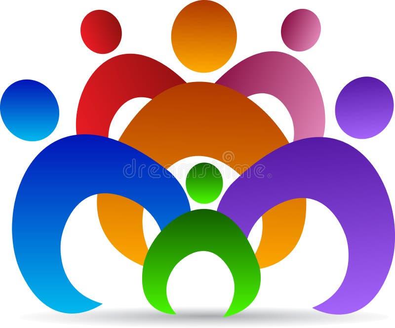 Unity of people stock illustration