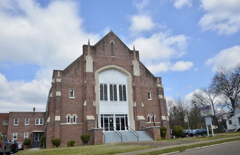 Unity Temple Church of God, Jackson, TN royalty free stock photos