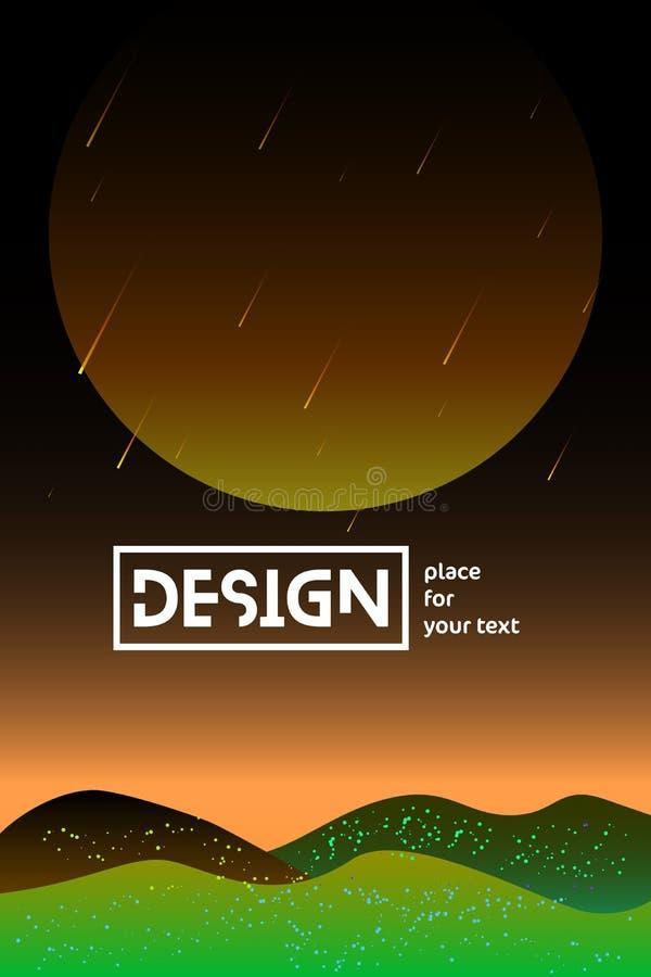 Univers d'illustrations de gradient illustration de vecteur