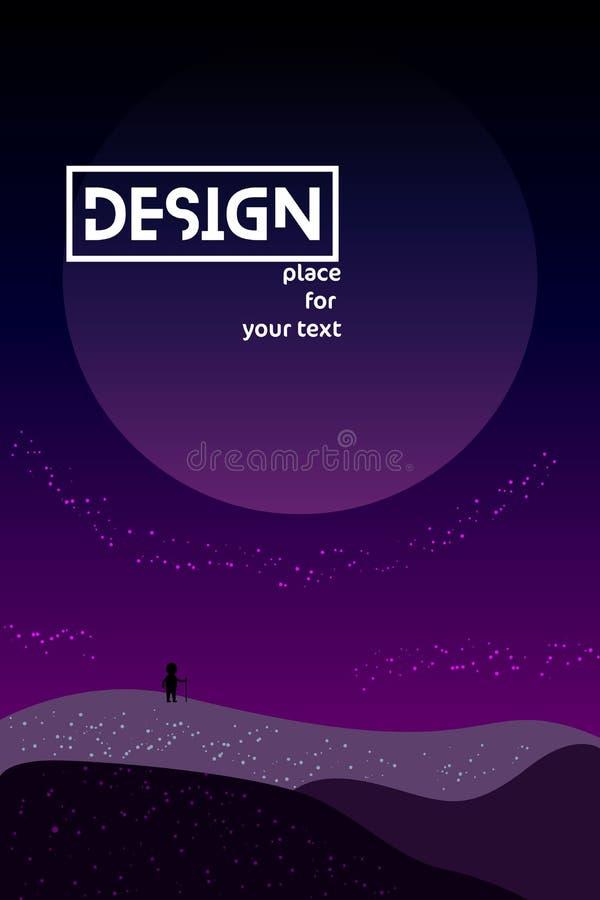 Univers d'illustrations de gradient illustration libre de droits