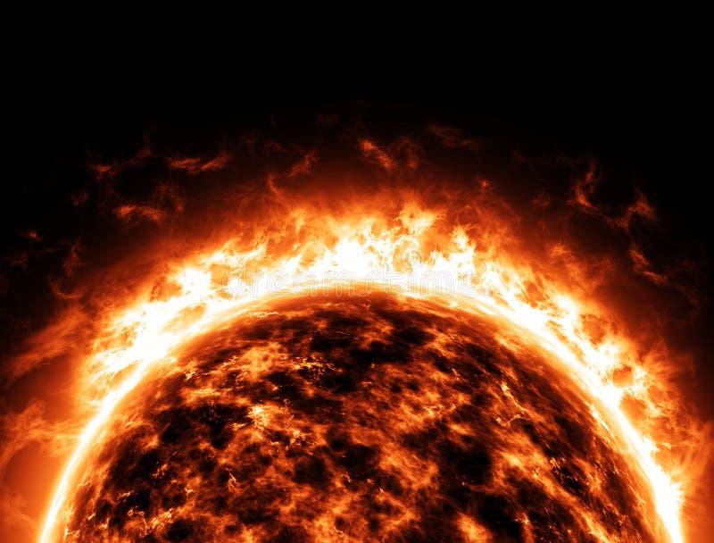 Univers de l'espace d'étoile de Sun illustration libre de droits