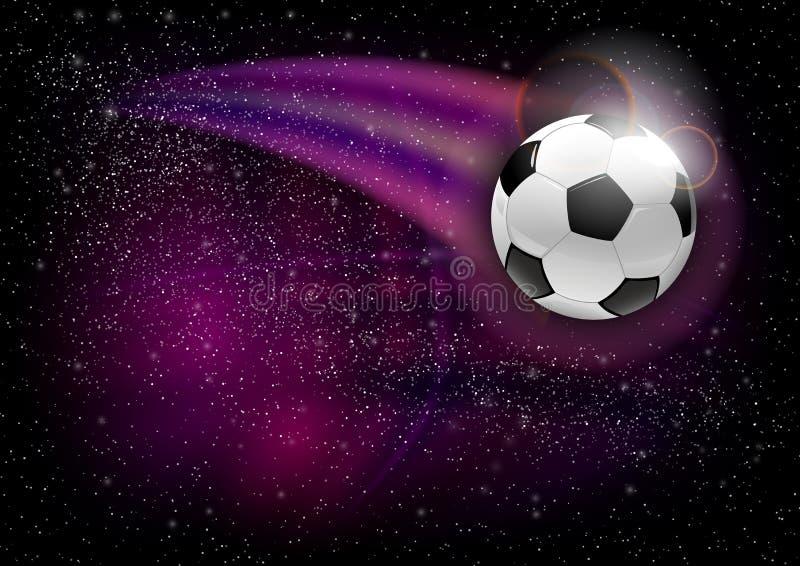Univers du football illustration libre de droits