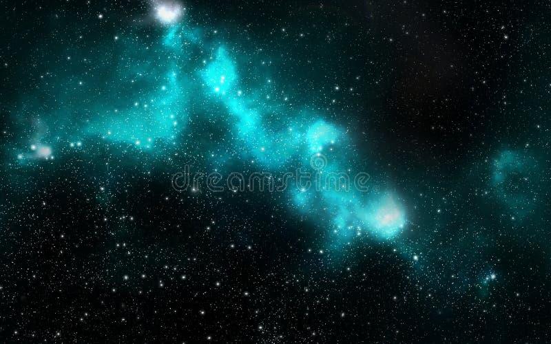 Univers rempli d'étoiles illustration libre de droits