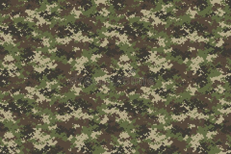 Universal Camouflage Pattern Clipart and Vector Graphic vector illustration