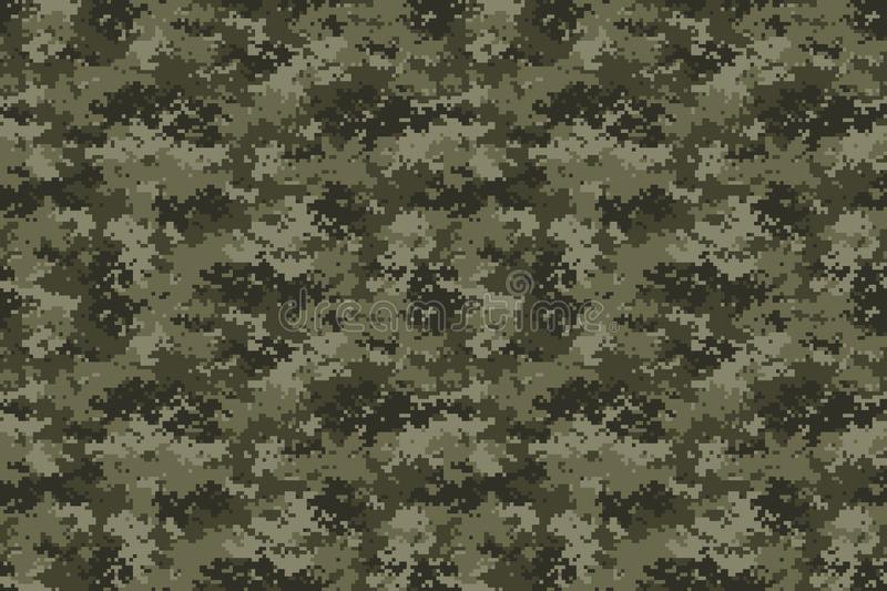Universal Camouflage Pattern Vector Image royalty free illustration