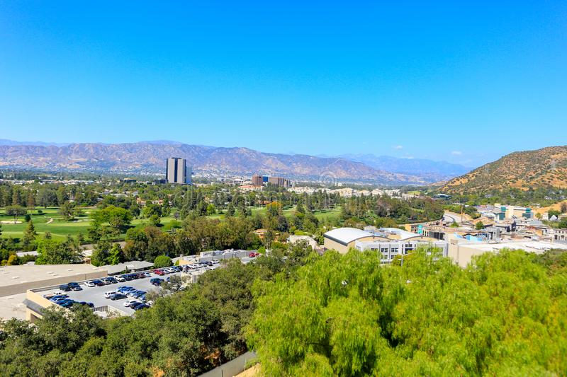 UNIVERSAL CITY, CA - JUNE 12, 2017: View of Universal Studios in Los Angeles. California stock images