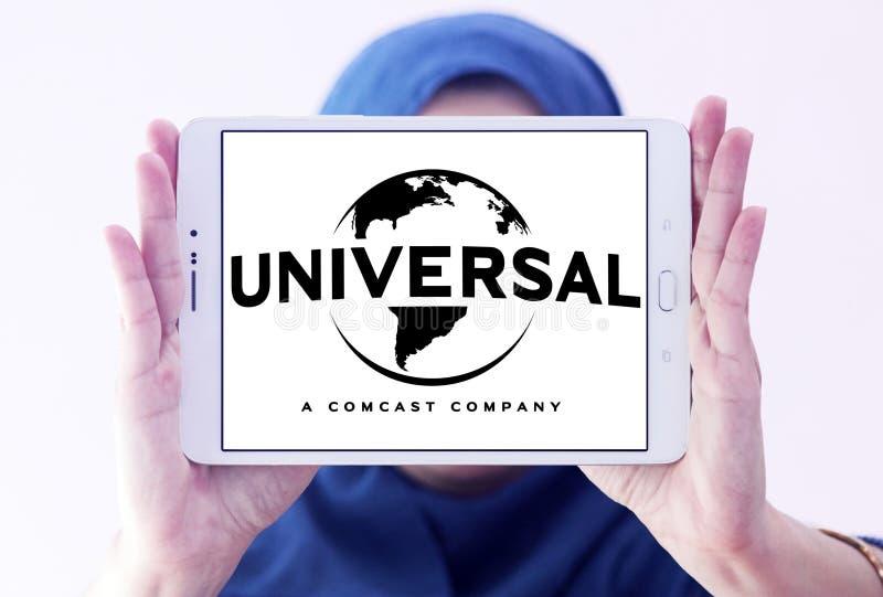 Universal-Comcast-Firmenlogo lizenzfreies stockbild