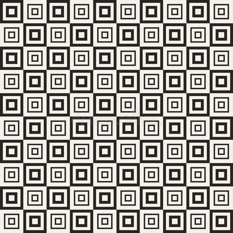 Universal different vector seamless pattern. Endless texture can be used for wallpaper, pattern fills, web page background, surface texture. Monochrome vector illustration