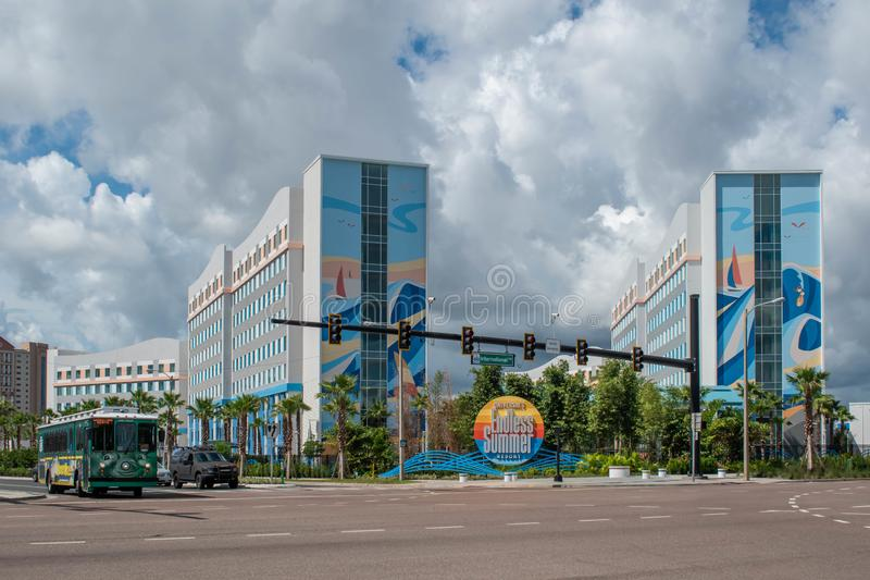Universal Enless Summer Resort of International Drive zdjęcie stock