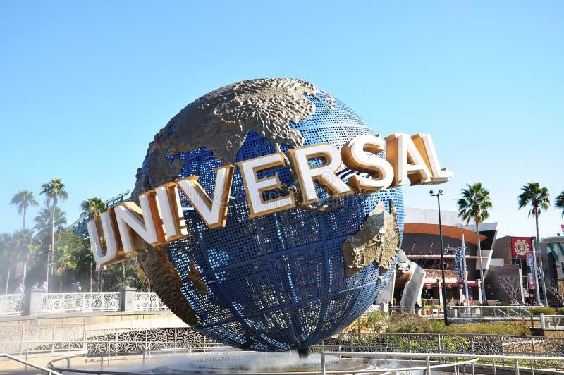 Universal Globe in Universal Orlando royalty free stock images