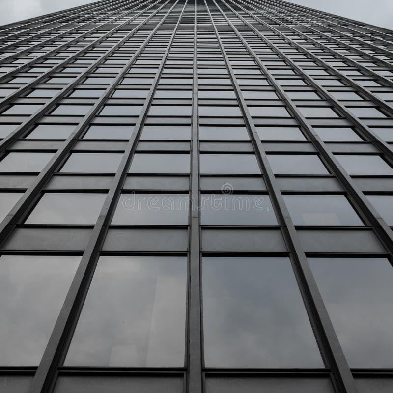 Universal Grey Uniform Grid Skyscraper stock photography