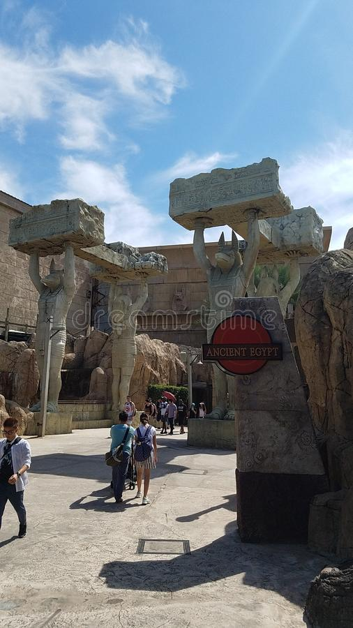 Universal Jurassic Park de Singapur fotos de archivo
