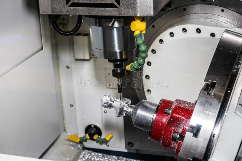 Universal milling machine centre royalty free stock photo