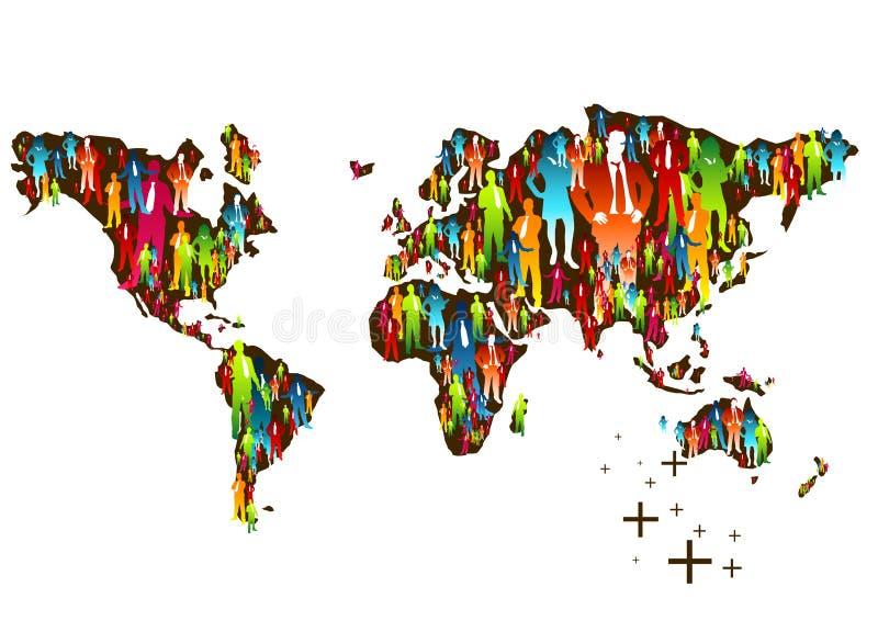 universal narodu ilustracja wektor
