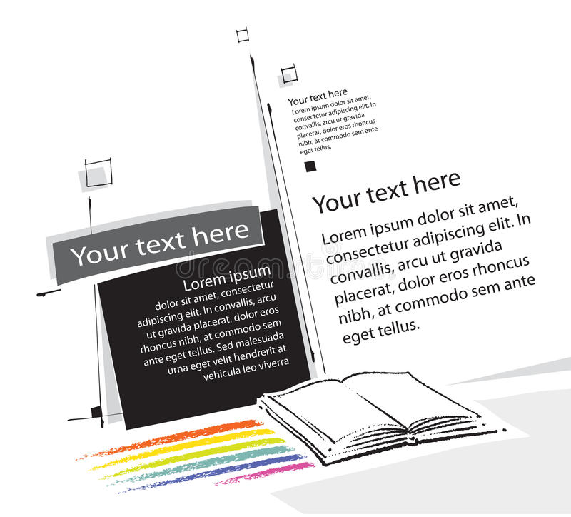 Download Universal Page-layout Design Stock Illustration - Image: 19775220