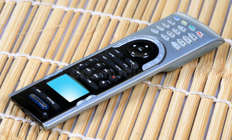 Download Universal remote control stock image. Image of indoors - 17066779