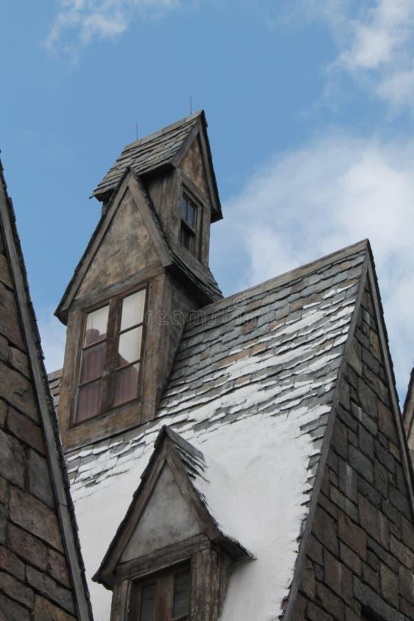 UNIVERSAL STUDIO του Harry Potter σπιτιών Hogsmaede στοκ φωτογραφία με δικαίωμα ελεύθερης χρήσης
