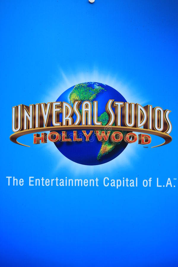Universal Studio Hollywood obraz stock