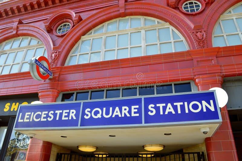 Universal Studio kurortu Leicester kwadrata dworzec zdjęcie stock