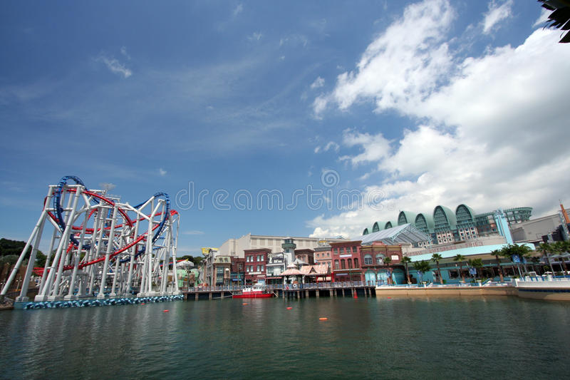 Universal Studio in Singapore royalty free stock images