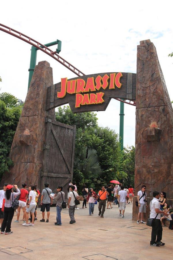 Universal Studio Singapore royalty free stock image