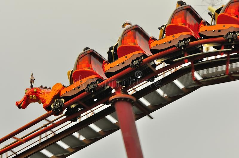 Download Universal Studio Singapore Roller Coaster Editorial Photography - Image of excitement, midway: 26277797