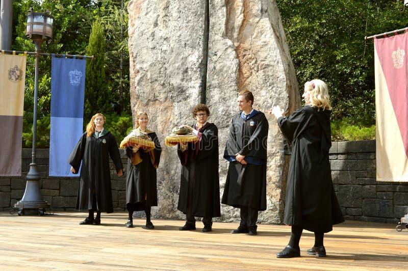 Universal Studio Uciekają się Wizarding świat Harry Poter zdjęcie stock