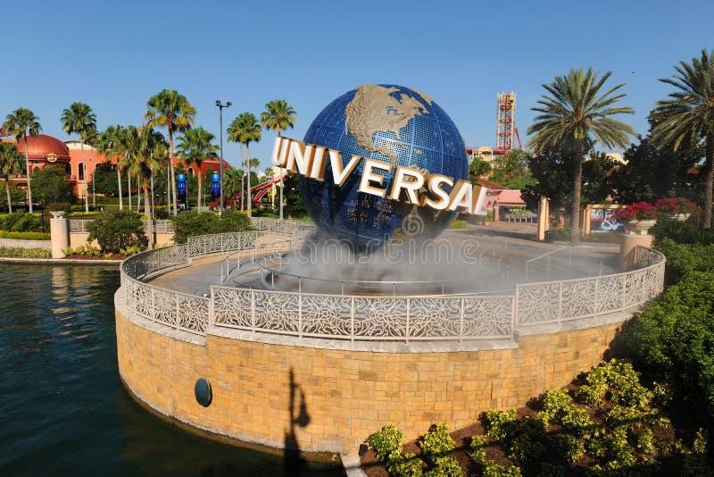 Universal Studios Entrance in Orlando, Florida royalty free stock image