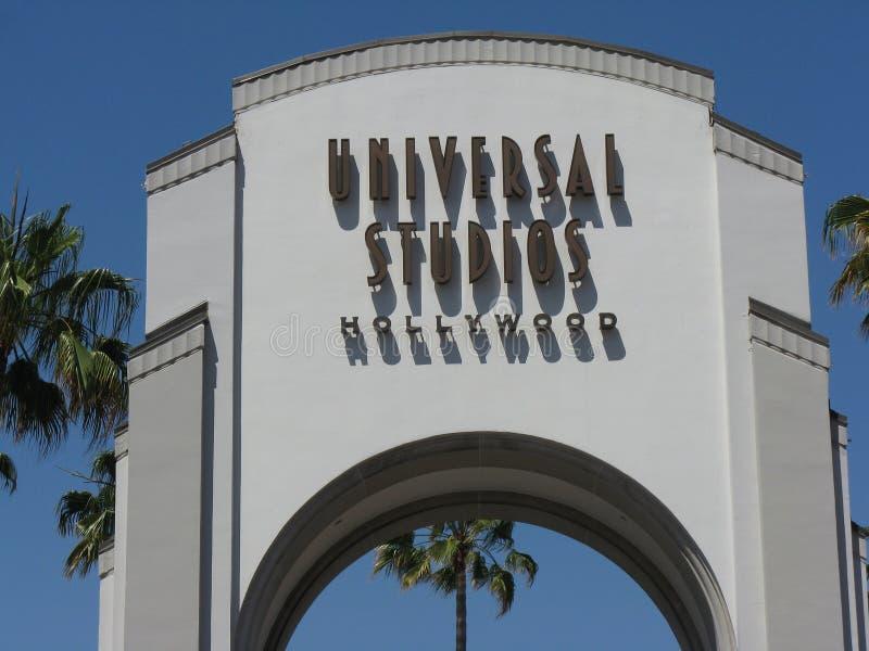 Universal Studios royalty free stock photography