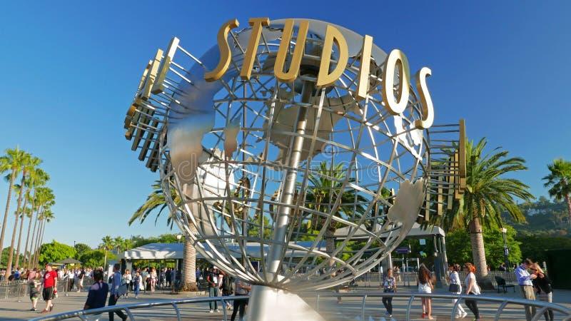 Universal Studios Hollywood Los Angeles Julio 2019 fotos de archivo