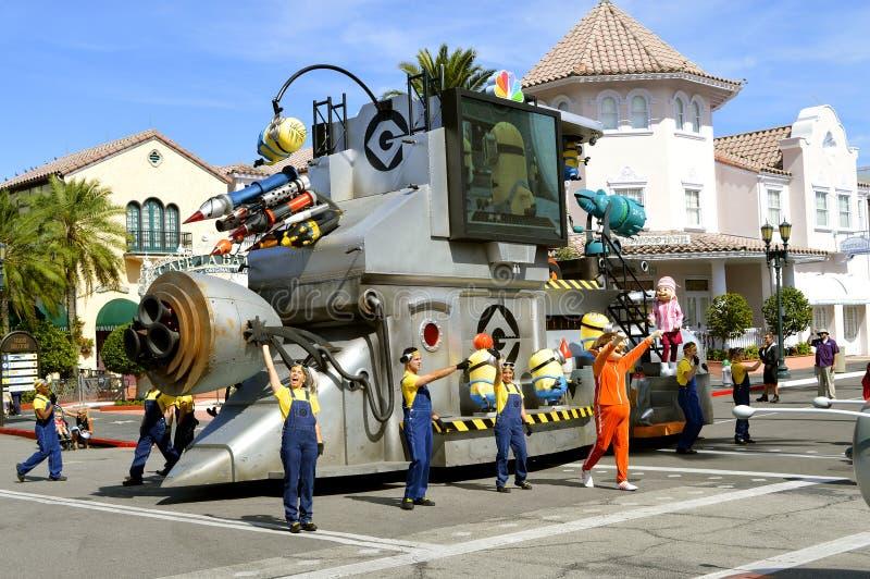 Universal Studios kurortu parady kolonel charaktery fotografia royalty free