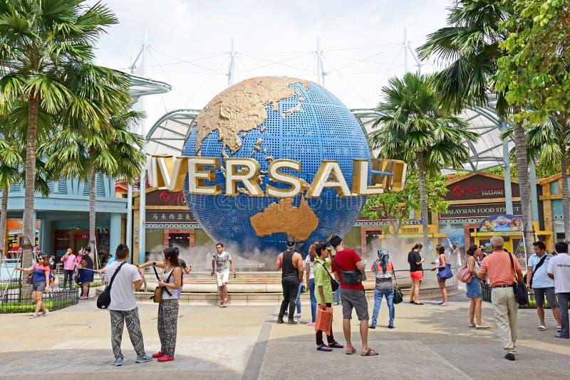 Universal Studios Singapore stock image
