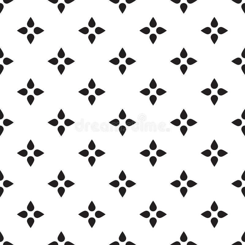Universal Vector Black And White Seamless Pattern (tiling). Stock ...