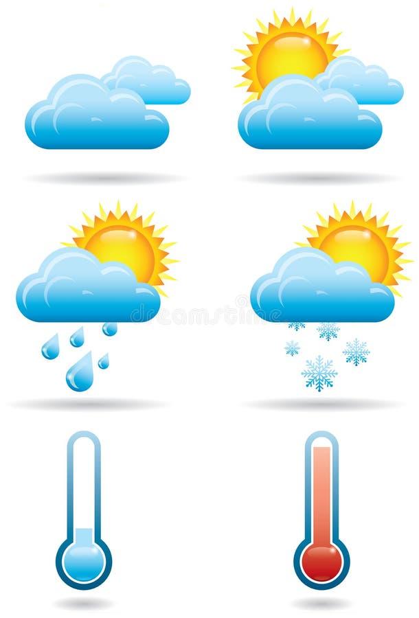 Universal Weather Icons B vector illustration