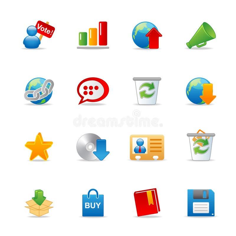 Free Universal Web Icons 2 Stock Photography - 13649832
