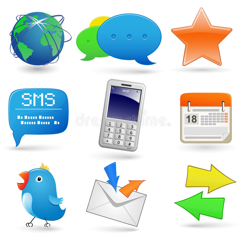 Download Universal Website Icon Set Stock Photography - Image: 16837972