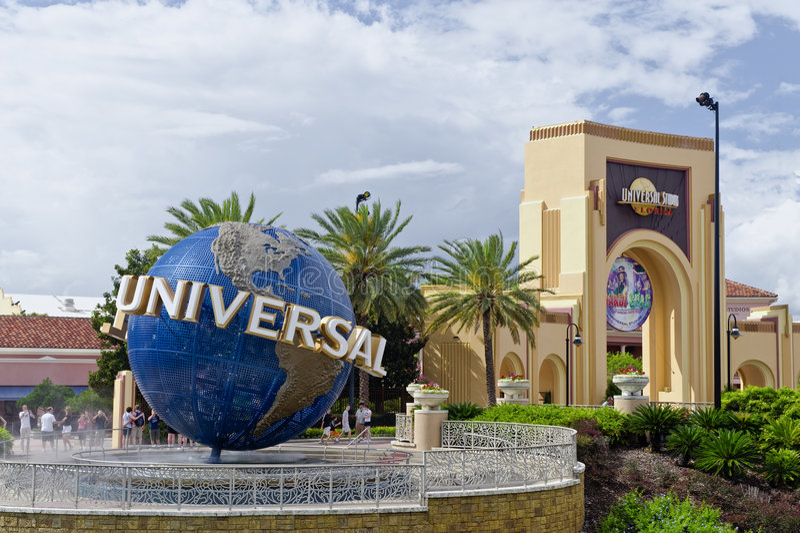 Universalstudios Orlando Florida stockbilder