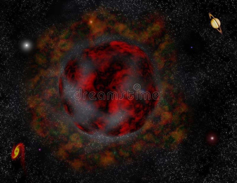 Download Universe stock illustration. Illustration of stars, cosmos - 100355