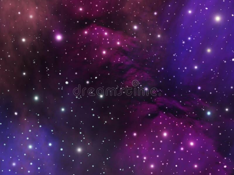 Download Universe stock illustration. Image of clouds, digital - 18254310
