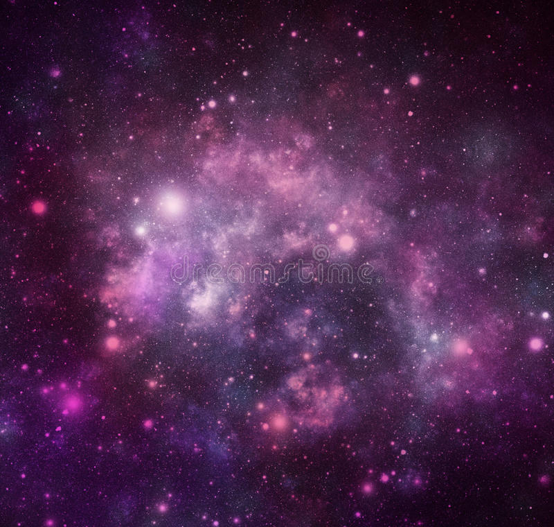 Universe royalty free stock photo