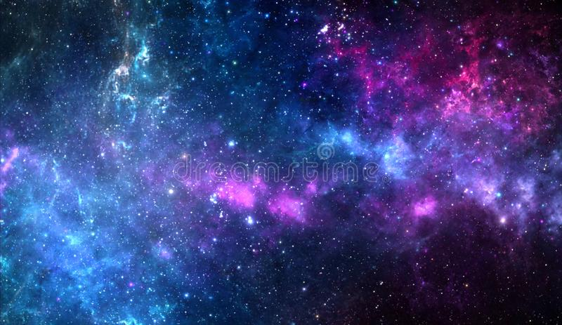 Planets and galaxy, science fiction wallpaper. Beauty of deep space. Universe all existing matter and space considered as a whole the cosmos.  scene with stock images