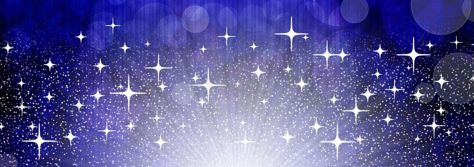 Universe banner stock photography