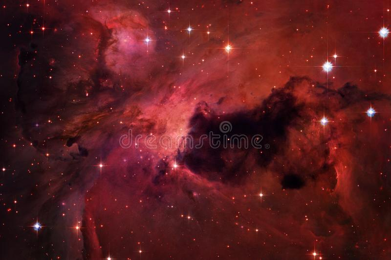 Universe filled stars, nebula and galaxy. Cosmic art, science fiction wallpaper. Elements of this image furnished by NASA royalty free stock photography