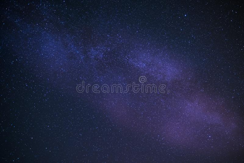 Universe filled with stars, nebula and galaxy. HQ background, space, sky, night, dark, astronomy, constellation, blue, abstract, deep, astrology, wallpaper stock image