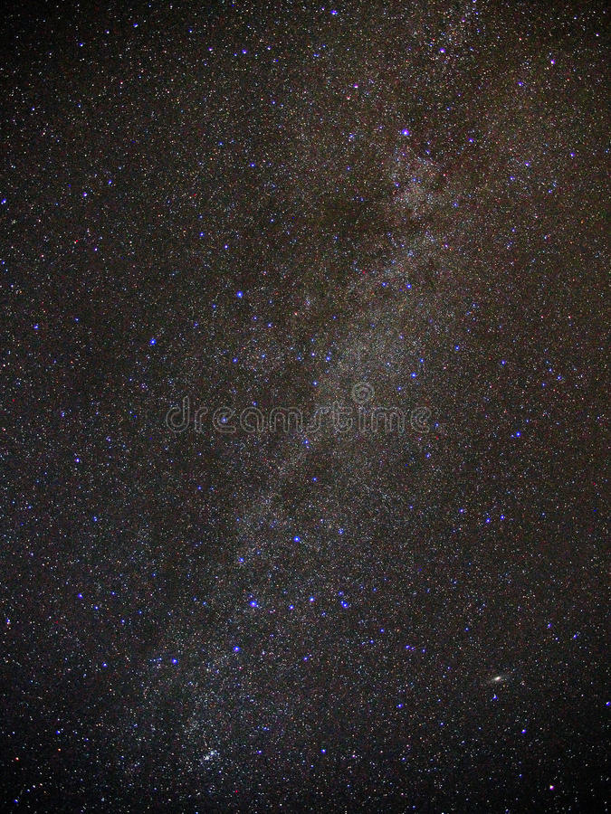 milky way and Universe stars night sky stock images