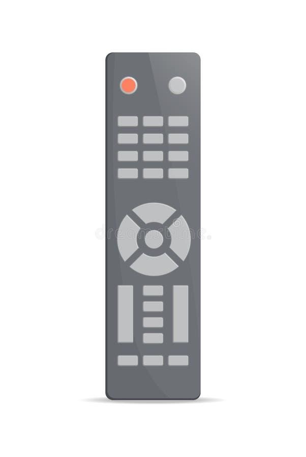 Universeel elektronisch afstandsbedieningpictogram vector illustratie