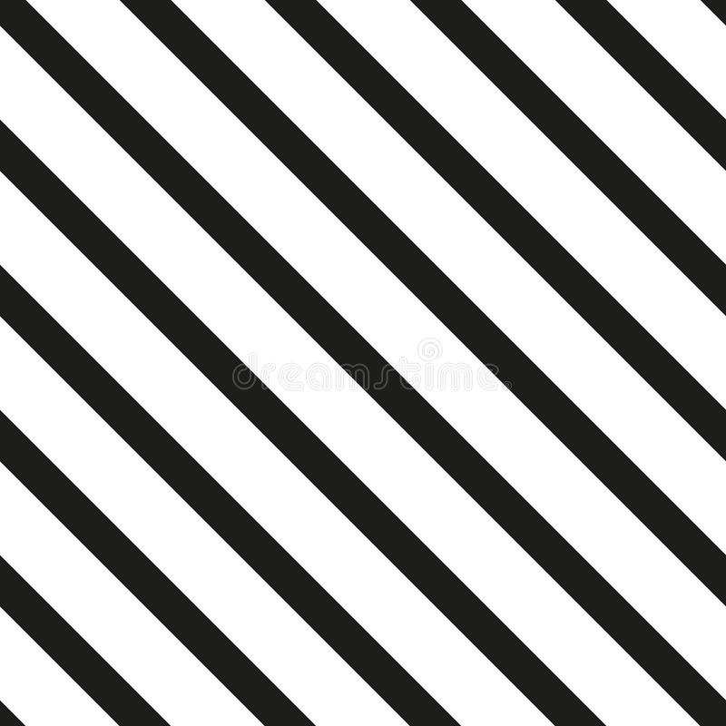 Universeel vector naadloos patroon van eenvoudige elementen royalty-vrije illustratie